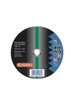 Diskas pjovimo 350x3,0x25,4 mm, A24M. CS 23-355, Metabo