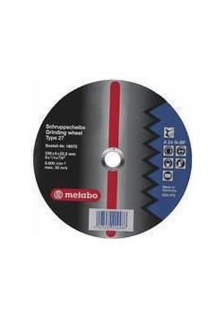 Metalo šlifavimo diskas 230x6x22 A 24-N, Metabo