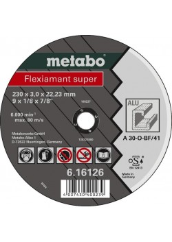 Diskas pjovimo aliuminiui 125 mm, Metabo