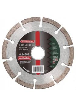 Deimantinis pjovimo diskas 125x22,23 mm, Metabo