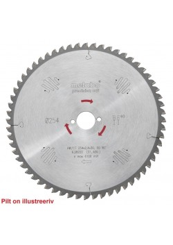 Pjovimo diskas 315x2,8/1,8x30, z48, WZ, 15°, Precision Cut., Metabo