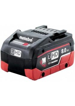 Akumuliatorius 18 V / 8,0 Ah LiHD, Metabo