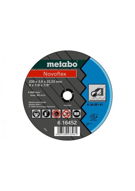 Pjovimo diskas metalui 115x2,5 Novoflex, Metabo
