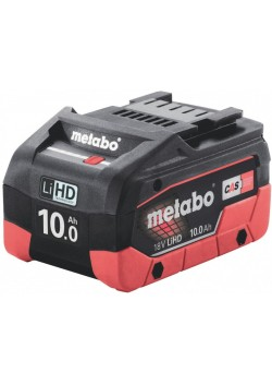 AKUMULIATORIŲ BLOKAS LIHD 18 V - 10,0 AH, Metabo