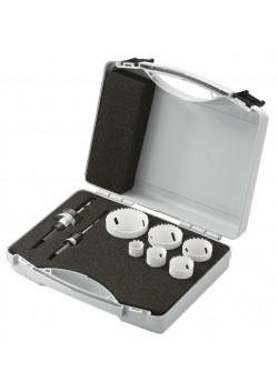Gręžimo karūnėlių rinkinys 22-64mm, Bi-metal, Metabo